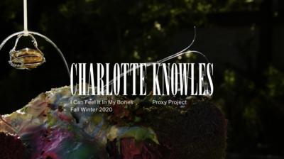 Charlotte Knowles AW20 Films - © Arnaud Lajeunie